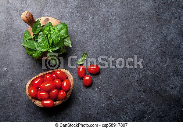 Italian cuisine - csp58917807