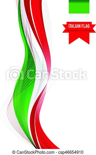 italian flag vector clip art search illustration drawings and rh canstockphoto com  italian flag clip art free
