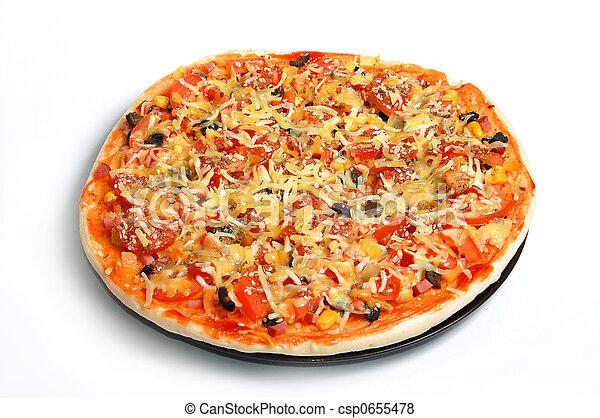 Italian pizza - csp0655478