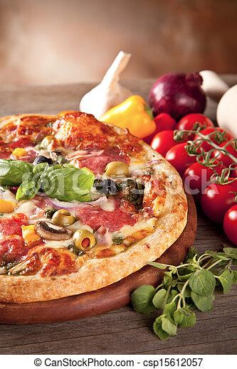 Italian pizza - csp15612057