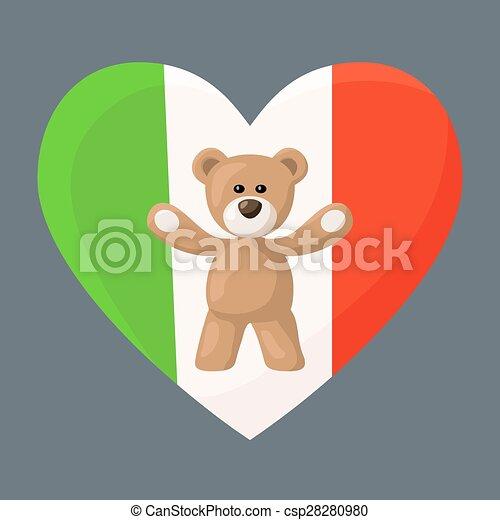 Italian Teddy Bears - csp28280980
