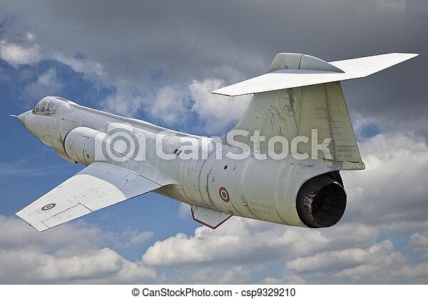 Italian warplane - csp9329210