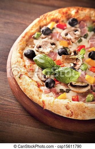Pizza italiana - csp15611790