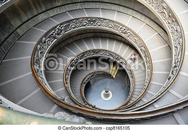 Italie escalier mus e rome spirale vatican italie for Escalier spirale