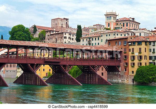 Italy, Bassano del Grappa - csp4418599