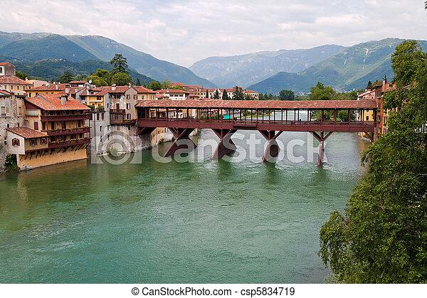 Italy, Bassano del Grappa - csp5834719