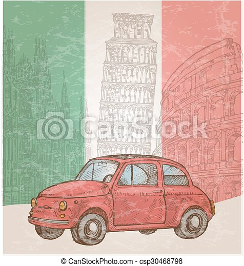 italy car - csp30468798