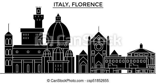 Italian Landmarks Clip Art