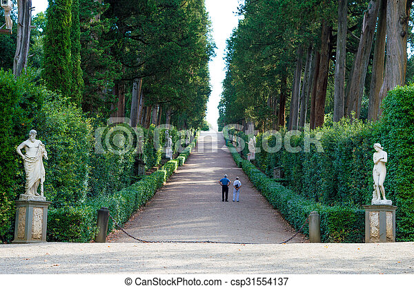 Italy florence boboli gardens. Florence is the capital city of the ...