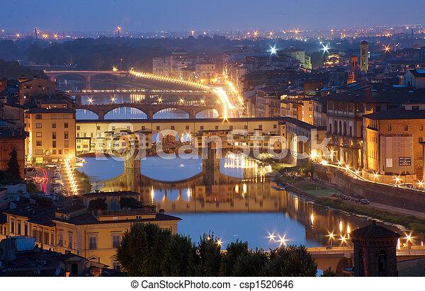 Italy, Florence, Tuscany, - csp1520646