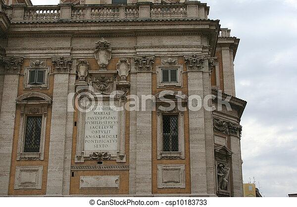 Italy Rome - csp10183733