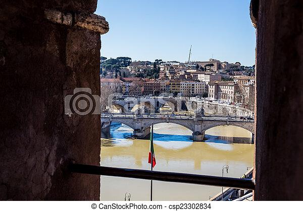 italy, rome, - csp23302834