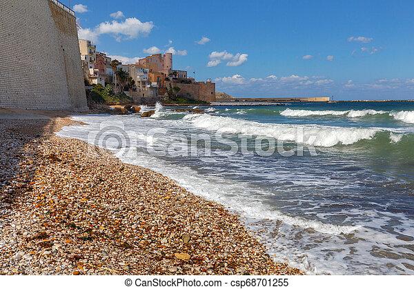 Italy. Sicily. Castellammare del Golfo. - csp68701255