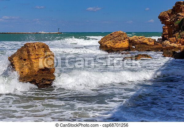 Italy. Sicily. Castellammare del Golfo. - csp68701256