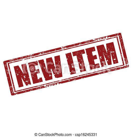 item-stamp, novo - csp16245331