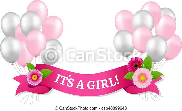 Its A Girl - csp48099648