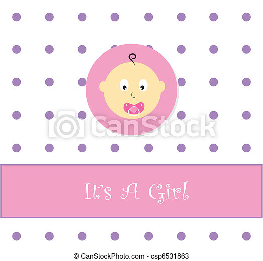 its a girl announcement