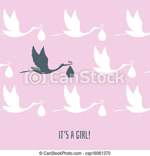 It's a girl! - csp16061370