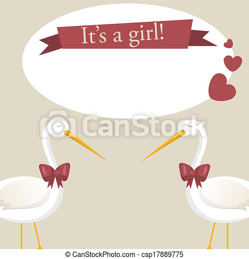 It's a girl - csp17889775