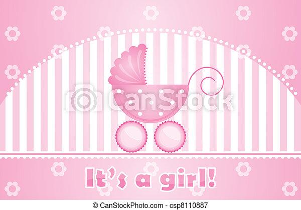 it's a girl - csp8110887