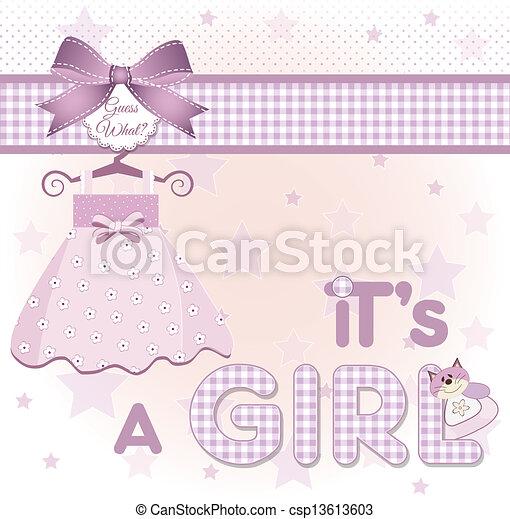it's a girl - csp13613603