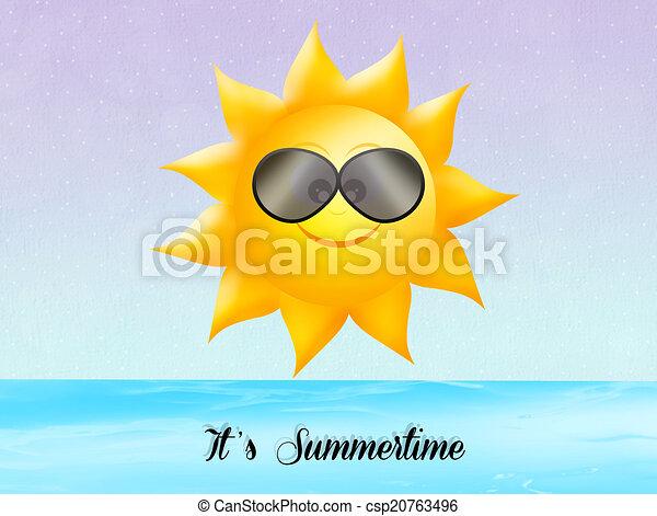 it's summertime - csp20763496