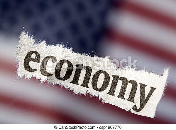 It's The Economy - csp4967776