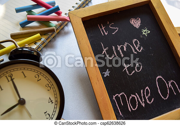 It's time to move on - csp62638626
