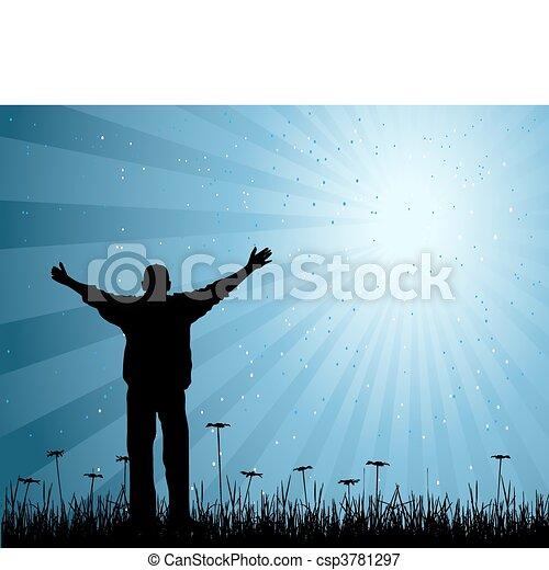it\\\'s, vector, leven, mijn, illustratie - csp3781297