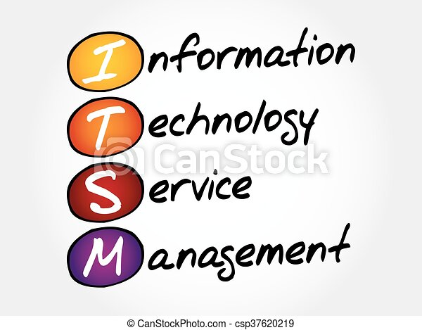 itsm information technology service management acronym business rh canstockphoto com free clipart information technology