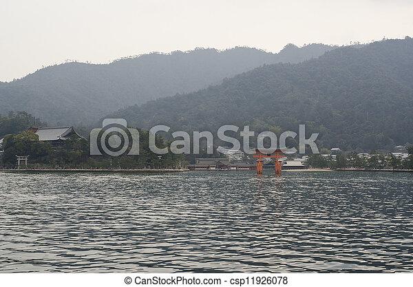 itsukushima shrine - csp11926078