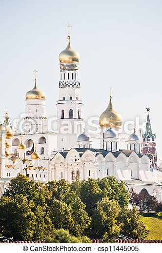 Ivan the Great Bell. Moscow. - csp11445005