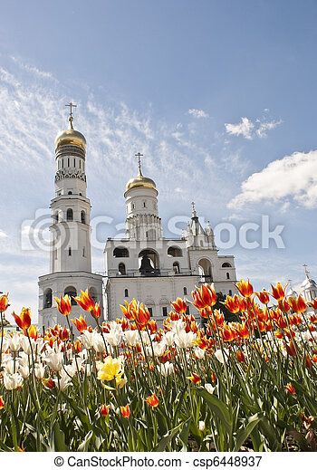 Ivan the Great Bell Tower, Moscow - csp6448937