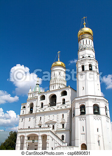 Ivan the Great bell tower - csp6890831