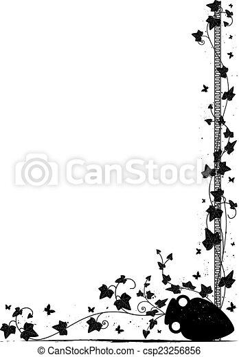 ivy background - csp23256856