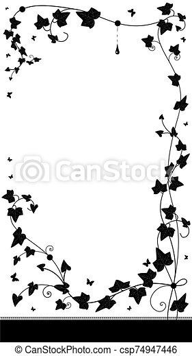 ivy background - csp74947446