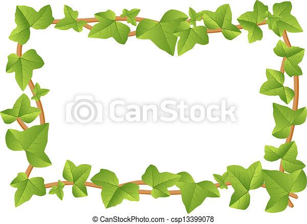 ivy frame - csp13399078