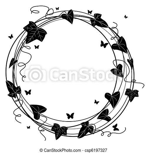 ivy frame - csp6197327