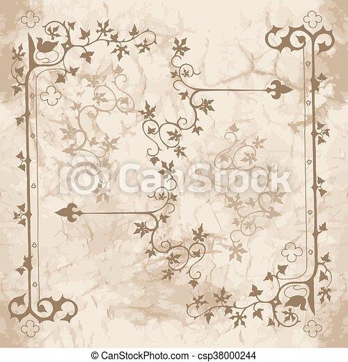 Ivy ornaments for design - csp38000244