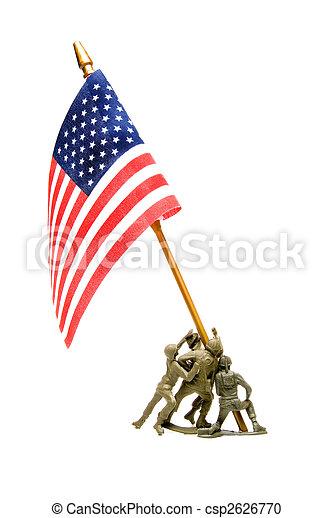 Iwo Jima Memorial - csp2626770