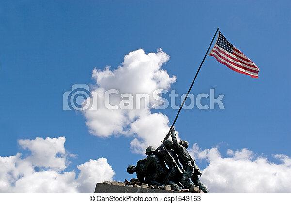Iwo Jima Memorial - csp1543163