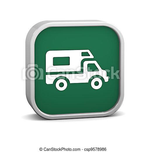 jármű, szórakozási, aláír - csp9578986
