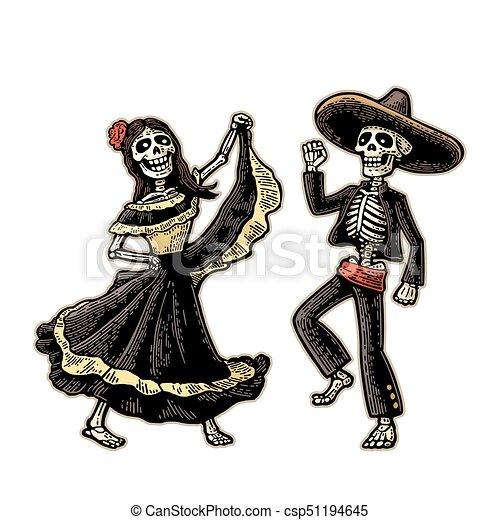 8dfc8e8bec játék, ellen-, muertos, csontváz, nemzeti, guitar., jelmezbe öltöztet