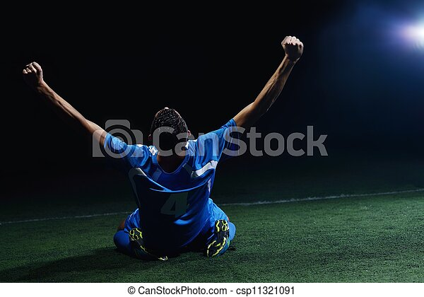 játékos, futball - csp11321091