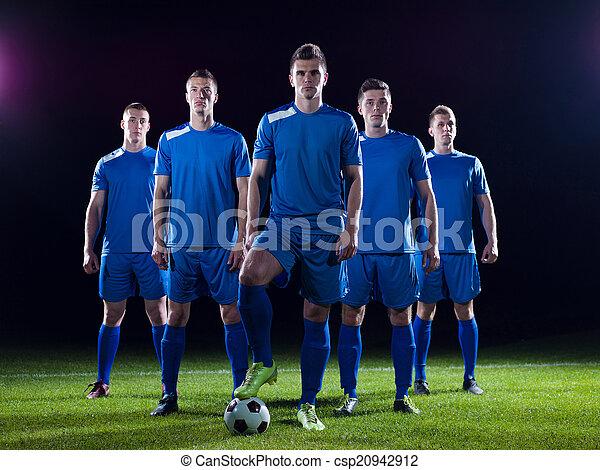 játékosok, futballcsapat - csp20942912