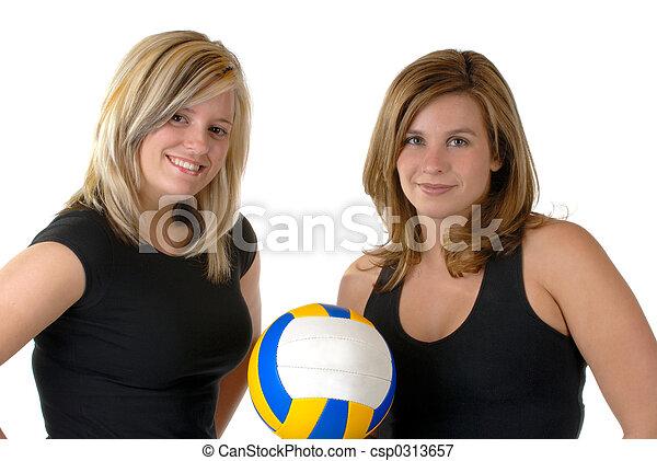 játékosok, röplabda - csp0313657