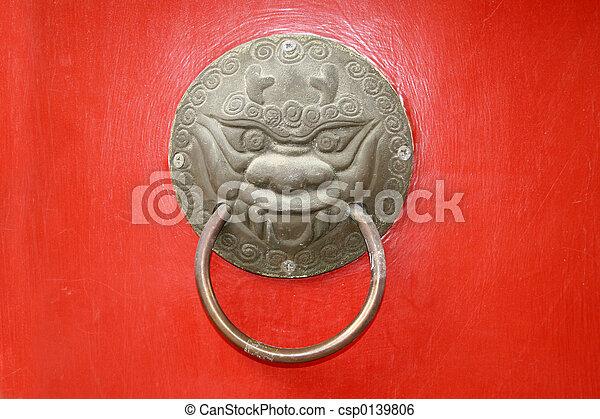 järnvaror, dörr hantera - csp0139806
