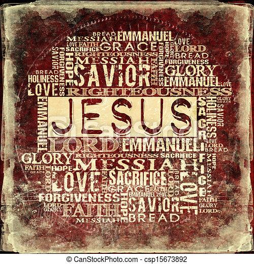 jézus, vallásos, háttér - csp15673892