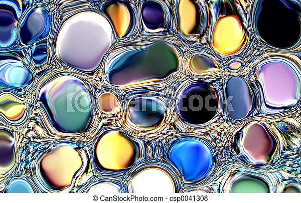 jóias, abstratos - csp0041308