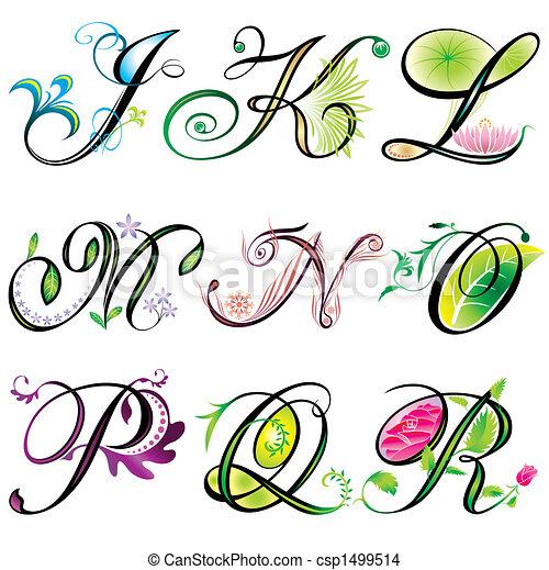 j-r, alfabet, communie - csp1499514